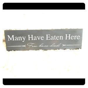 Other - Many have eaten here, few have died